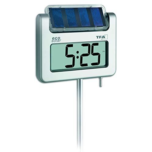 TFA Dostmann Avenue digitales Solar-Gartenthermometer, 30.2026, mit...