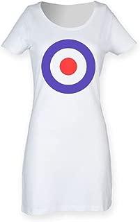 Tribal T-Shirts MOD Target Women's Short Sleeve T-Shirt Dress