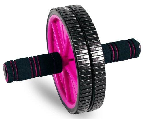 Tone Fitness Rueda para abdominales para entrenamiento de abdominales | Rodillo de abdominales | Equipo de ejercicio y accesorios