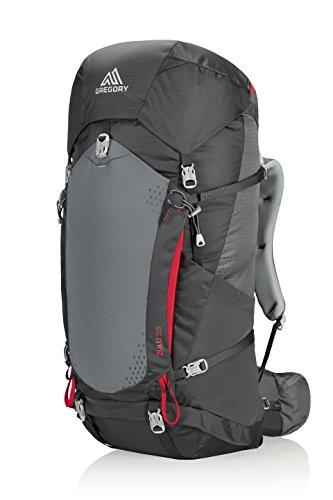 Gregory Mountain Products Zulu 55 Liter Men's Backpack, Feldspar Grey, Medium