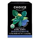 Choice Organics – Organic Decaffeinated Earl Grey Tea (6 Pack) – Organic Black Tea – 96 Tea Bags