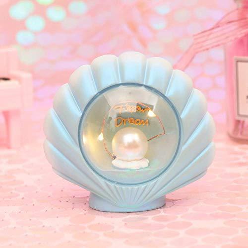 Éclairage Sternlicht Nachtlicht Dekoration Basteln Kleine Dekoration-Blaue Perle Veilleuse Lampe de Nuit Chevet Veilleuse