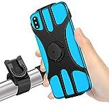 """MOSUO Porta Cellulare Bici, Supporto Smartphone per Bici Manubrio MTB Universale 360° Rotabile Telefono Portacellulare Moto Bicicletta e Dispositivi Elettronici per 4.5""""-7.0"""" iPhone Samsung Huawei"""
