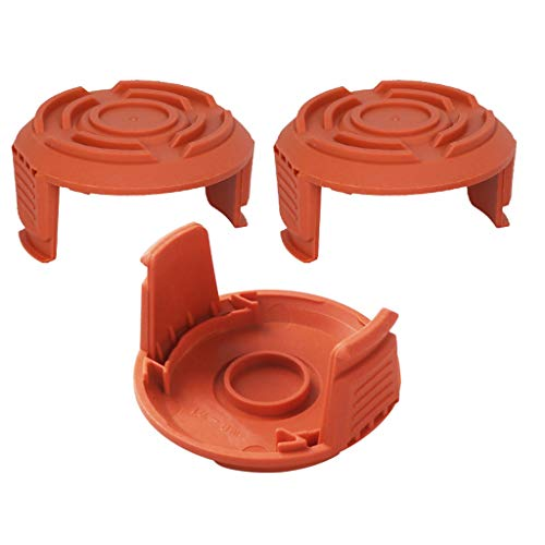 AK 3er Pack Trimmer Ersatz WA6531 GT Kappe Weed Eater Spool Bump Cove für Worx 5000653, Weed Eater Cover, Weed Wacker Parts