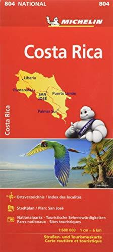 Michelin Costa Rica: Straßen- und Tourismuskarte 1:600.000 (MICHELIN Nationalkarten)