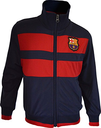 Fc Barcelone Veste zippée Barça - Collection Officielle Taille Adulte Homme M
