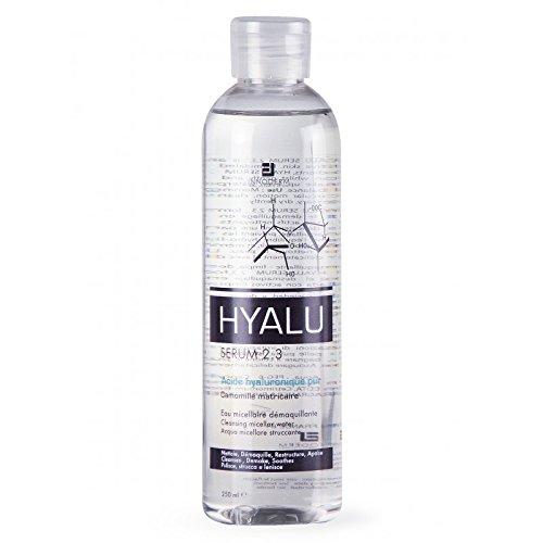 HYALU SERUM 2.3 Eau Micellaire Démaquillante Enrichie en Acide Hyaluronique Visage/Yeux