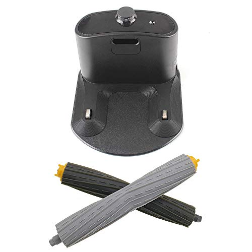 Great Features Of Integrated Home Base Charging Dock and One Pair Front Rear Debris Extractor for iR...
