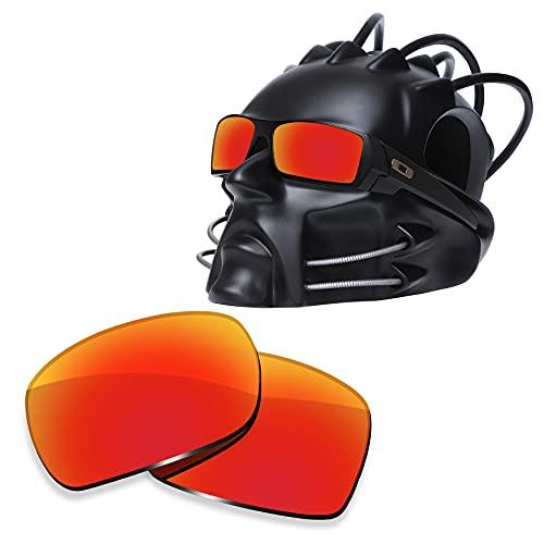 ToughAsNails Reemplazo de lente polarizada para Oakley Gascan Sunglass - Más opciones, Naranja Fuego, Talla única