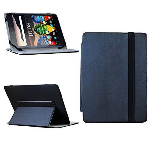 NAUC Lenovo Tab3 7 Essential Tablet Tasche Cover Hülle Schutzhülle Hülle Schwarz Etui