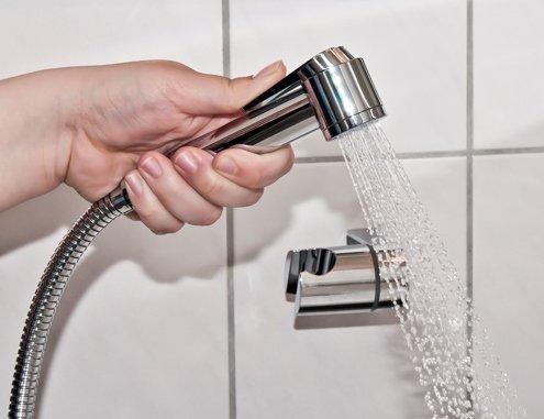 Every Drop Is Precious - Alcachofa de ducha para lavado de pelo (modo de ahorro de agua)