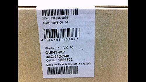 Phoenix QUINT-PS/3AC/24DC/40 Netzteil (960 Watt, 320 - 575 V, 45 - 65 Hz, 94%, 880000 h, grau)