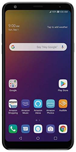 "LG Stylo 5 LM-Q720 6.2"" Smartphone – Unlocked – 32 GB – Silvery White (Renewed)"