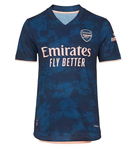GOLDEN FASHION Arsenal Third 2020-21 Football Jersey Player Version for Men and Women Unisex (Medium)