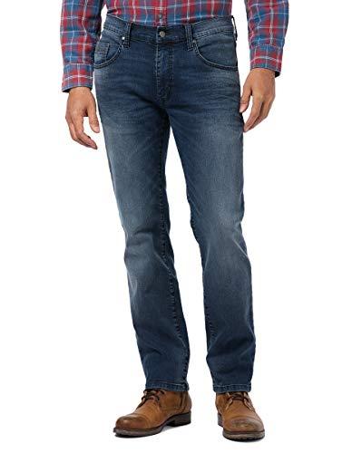 Pioneer Herren Rando MEGAFLEX Jeans, Stone Used with Buffies 349, 33W / 30L