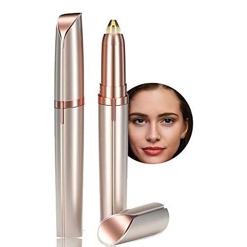 Eleven Mart® Eyebrow Hair Remover,Eyebrow Trimmer,Face,Lips,Nose Hair Removal Trimmer,face Hair Remover for Women(GOLD COLOUR)