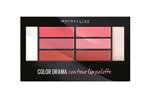 Blushed diese frau ist - Contouring Palette Lippen Color Drama LIP CONTOUR PALETTE Maybelline presse/pressemitteilungen