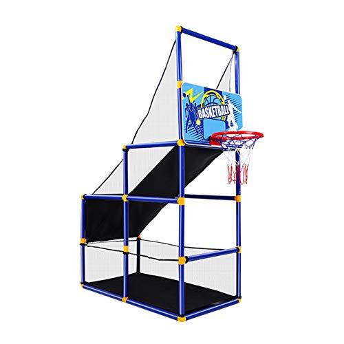 Canasta Tableros de Baloncesto Niños Portátiles Juego de Arcade Basketball Hoop, 3 Diferentes Desafíos Juegos de Entrenamiento de Tiro con Caja de Color para Interior y Exterior