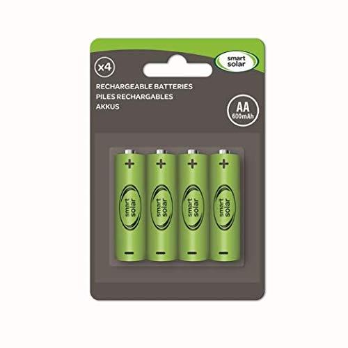 AA 600mAh wiederaufladbare Batterien