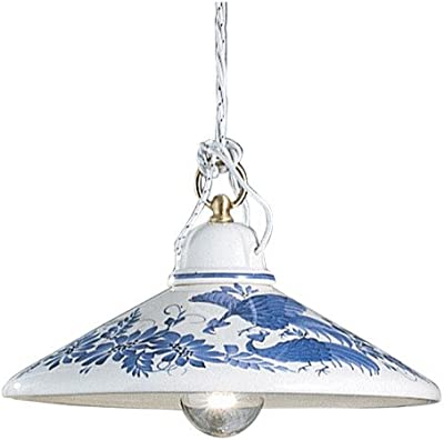 ferroluce lampada a sospensione Asti a mano, Made in Italy