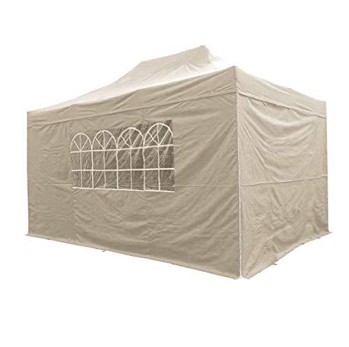 Airwave 4,5mtr x 3mtr Pop-Up-Pavillon, wasserabweisend, mit 4Seitenwänden, Integral windbar & Tragetasche