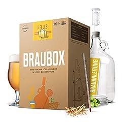 Braubox®, variëteit Helles I bier brouwset voor het brouwen van bier in de keuken I met garantie voor succes van Besserbrauer I Men I Men's Gifts*