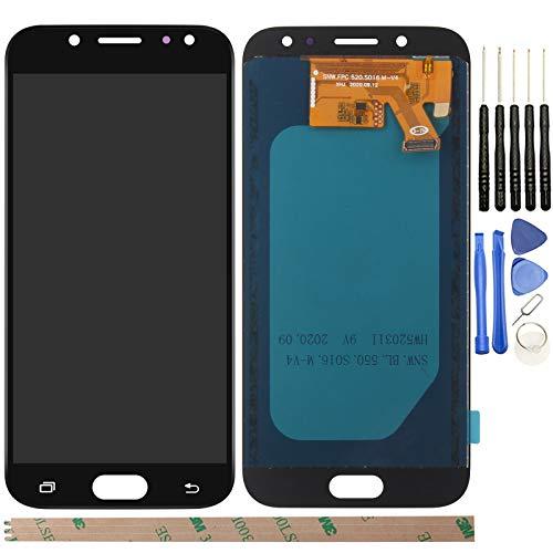 YHX-OU per Samsung Galaxy J5 2017 J530 SM-J530F di Riparazione e Sostituzione LCD Display Touch Screen Digitizer + Utensili (Nero)