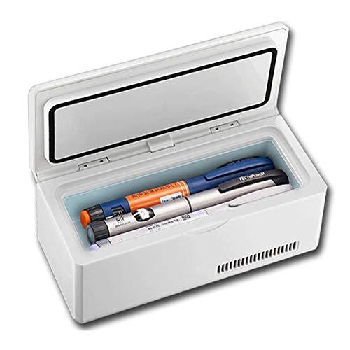 YPBX Tragbarer Medikamenten KüHler Mit Display, Elektrischer Insulin KüHlbox, 2-8 ° C-KüHlschrank Mit Konstanter Temperatur