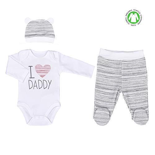 Sevira Kids - Ensemble vêtements Bébé 3 pièces - I love Daddy
