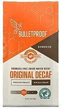 Bulletproof Coffee The Original Whole Bean Decaf, Premium Gourmet Medium Roast Organic Beans, Rainforest Alliance Certified, Clean, Upgraded Clean Coffee (12 Ounces)