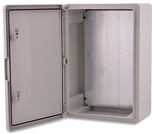 BOXEXPERT Caja de armario mural 500x400x175mm IP 65 gris RAL7035 Caja de distribución para armario de distribución