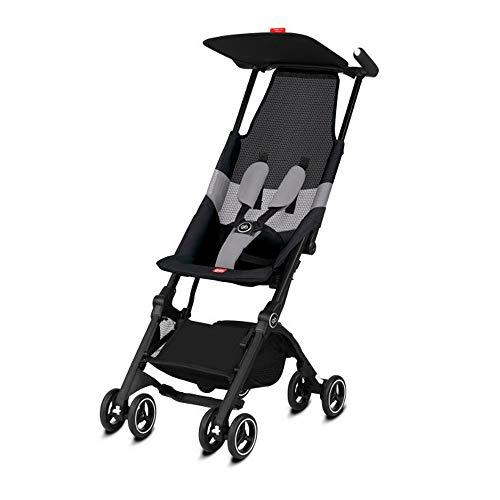 GB Pockit+ All-Terrain Stroller, Velvet Black