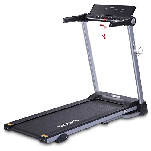 MaxKare Folding Treadmill Electric Motorized Running Machine with 15 Pre-Set