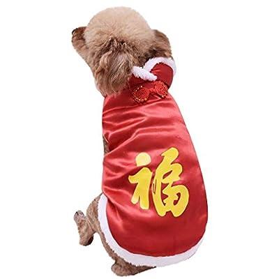 FELZ Ropa para Mascotas Abrigo Grueso Invierno Acolchado Caliente Chaleco Ropa para Mascotas Camisa De Perro Color SóLido Abrigo CáLido Sudadera Chaleco Mascotas Gato Ropa De Abrigo Abrigo Traje Tang