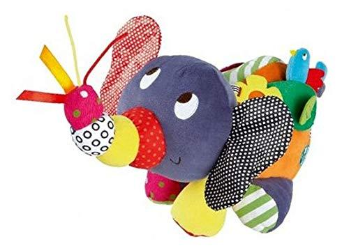 HLH Juguetes de bebé bebé elefante cochecito sonajeros móviles bebé juguetes educativos de felpa para niños pequeños