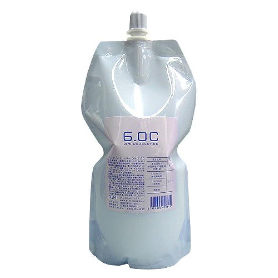 壁マーカー認証デミ ディベロッパー1000ml(レフィル) 6.0%【ヘアカラー2剤】【業務用】【医薬部外品】
