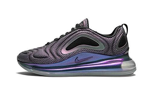 Nike Air Max 720 (Metallic Silver/Black, 10.5)