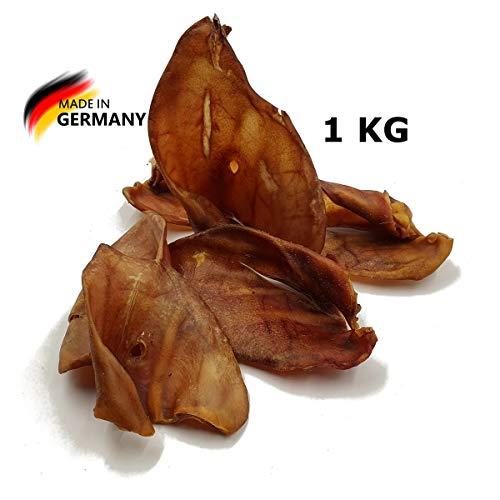 Breer Schweineohren | Deutsche Herstellung | Kauartikel | Hundesnack | Kausnack, Gewicht:1 Kg