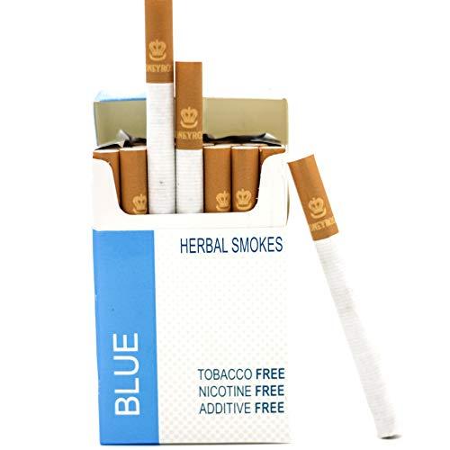 """Honeyrose """"B"""" Blue - Tobacco Free Nicotine Free Herbal Cigarettes"""
