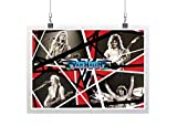 Personalized Ed.die Van-Halen Classic Collage Premium Music Poster Rock Posters
