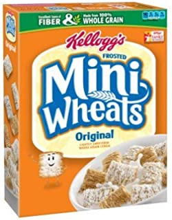Kellogg's Frosted Mini-wheats Original Size Cereal 18-ounce Boxes - 4 Pack