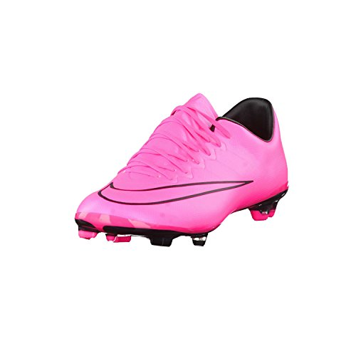 Nike Youth Mercurial Vapor X Firm Ground (Hyper Pink/Black/Hyper Pink) (6Y)