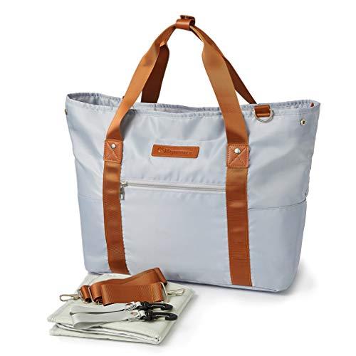 Maymooner Crossbody Baby Changing Bag Lightweight Travel Diaper Totes Bag Large Capacity...