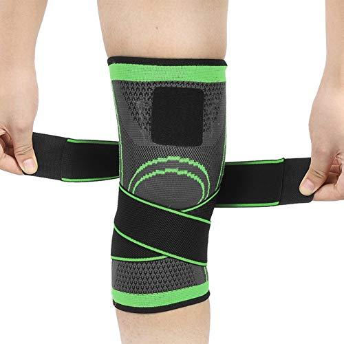 Kniestütze Kniebandage - Kniebandage Kompression für Arthrose und Knieschmerzen Gewichtheben Joggen 3D Atmungsaktive Knieschoner Für Damen und Männer (L 40-45CM)