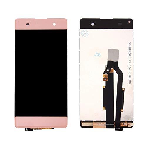 Hencik Pantalla de teléfono y piezas de repuesto Pantalla LCD y digitalizador completo para productos de teléfonos móviles Sony Xperia XA (color oro rosa) Accesorios para teléfonos móviles