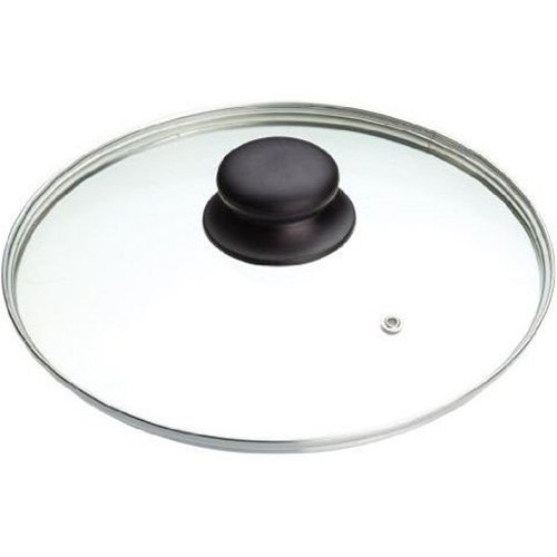 Tapa 970716 Cristal - Coperchio in acciaio inossidabile e vetro, 16 Cm