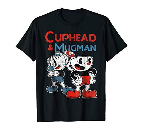 Cuphead & Mugman Dynamic Duo Graphic T-Shirt