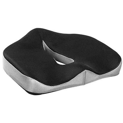 RICOO SK-U0110 Cojin Silla Oficina Elevador Asiento Ortopedico Cojín para Sentarse ergonomico Despacho Terapeutico Acolchado Espalda Coxis