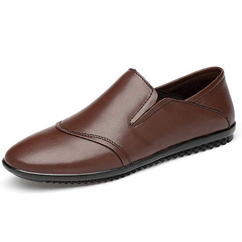 Zapatos Oxford Durable Moda Negocio Oxford Zapatos para hombres Cuero de la...