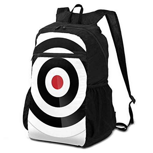 JOCHUAN Packable Travel Daypack Accurate Three Hit Targets Packable Backpack Lightweight Foldable Backpack Packable Lightweight Waterproof for Men & Womentravel Camping Outdoor